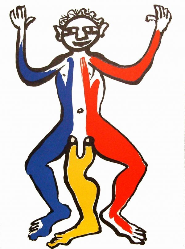 239: Alexander Calder - Three Legged Man