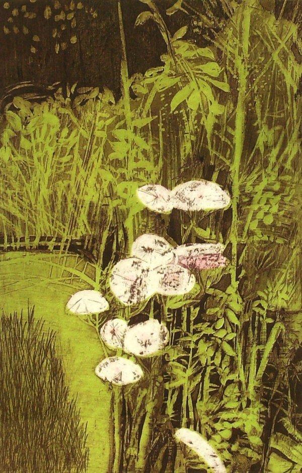 242: Ruth Leaf - Queen Ann Etching (New York 1923)