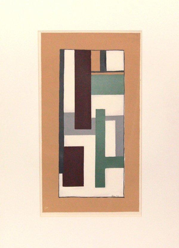 1: Fernand Leger - Abstract (Frn 1881-1955)
