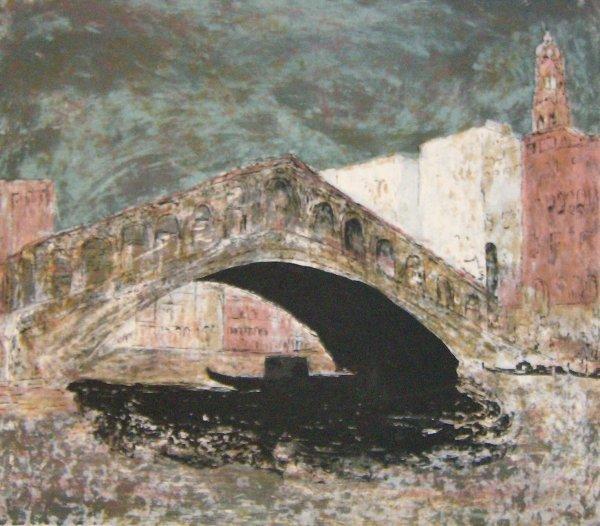 4: Richard Sims - Rialto Bridge (20th Cent)