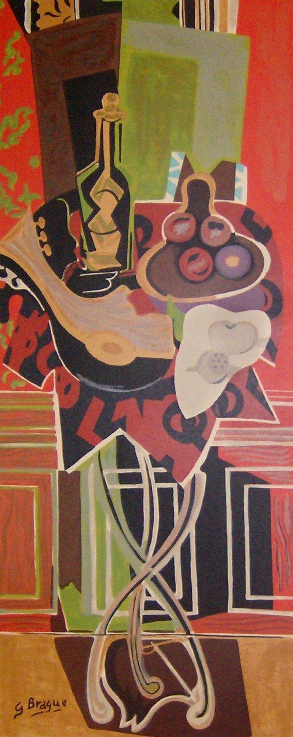 7: Georges Braque - Pedestal Table - Serigraph