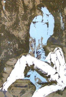 11: Amado Pena - The Artesans - Serigraph