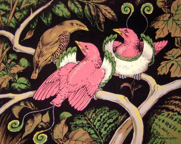 15: Erich - Birds - Rare Serigraph