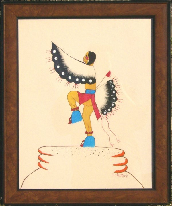 21: Tartsah - Fancy Dancer - Indian Art