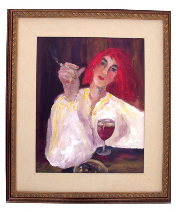 20: DORIS BEWLEY OIL PAINTING (American 20th Century)