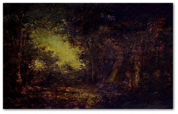 22: ATTRIBUTED TO: RALPH ALBERT BLAKELOCK, N.A. OIL ON