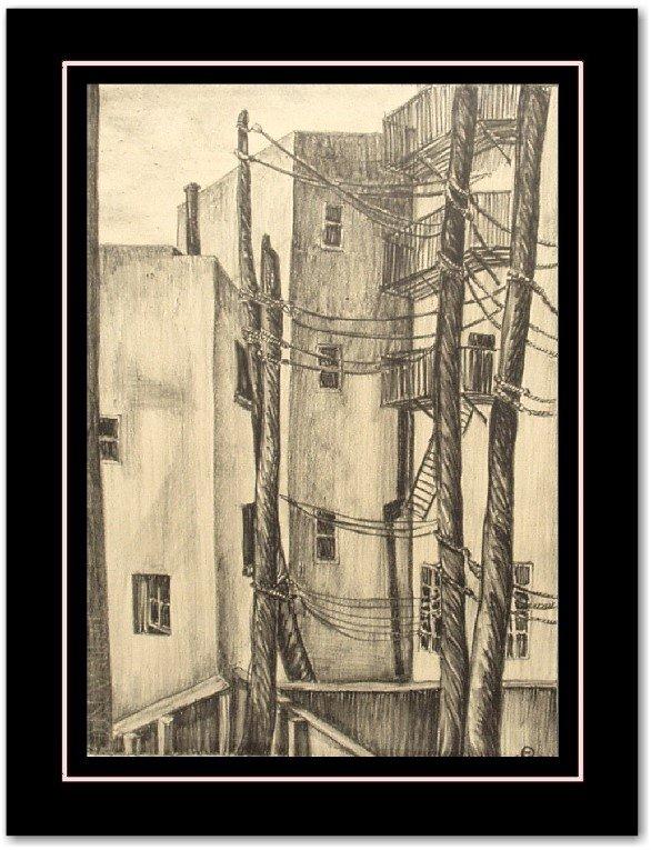 1: INA ANNETTE  LITHOGRAPH (American 1901-1999)