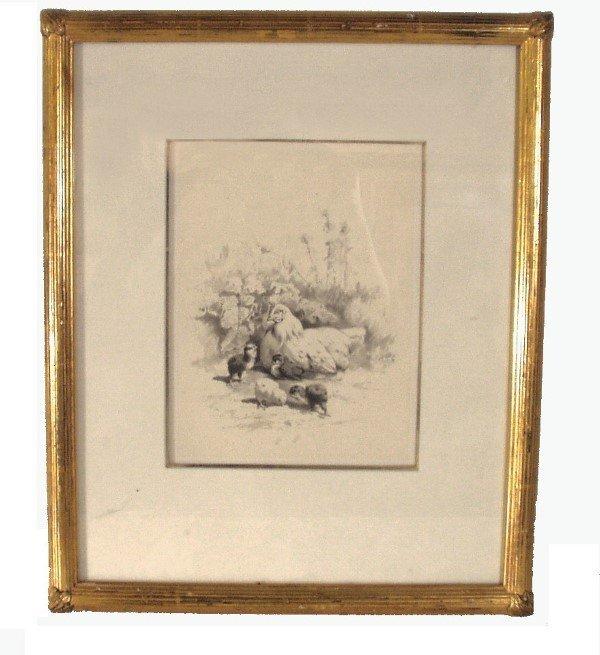 9: WILLIAM BAPTIST BAIRD  PENCIL (American 1847-1899)