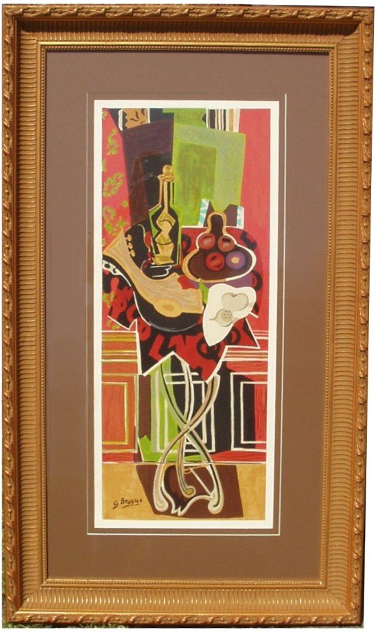 32: GEORGES BRAQUE SERIGRAPH (French 1882-1963)