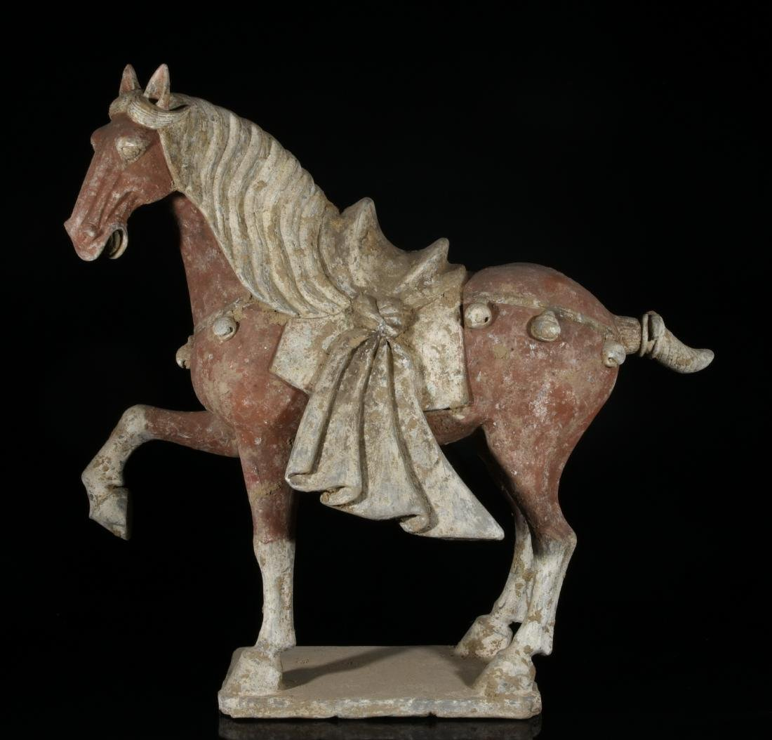 Chinese pottery horse
