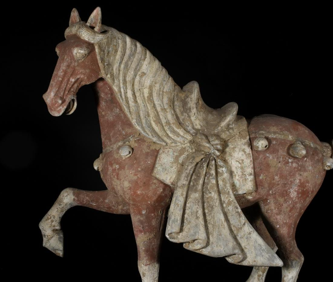 Chinese pottery horse - 8