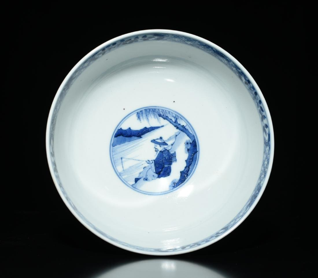 Chinese Blue And White Bowl - 6