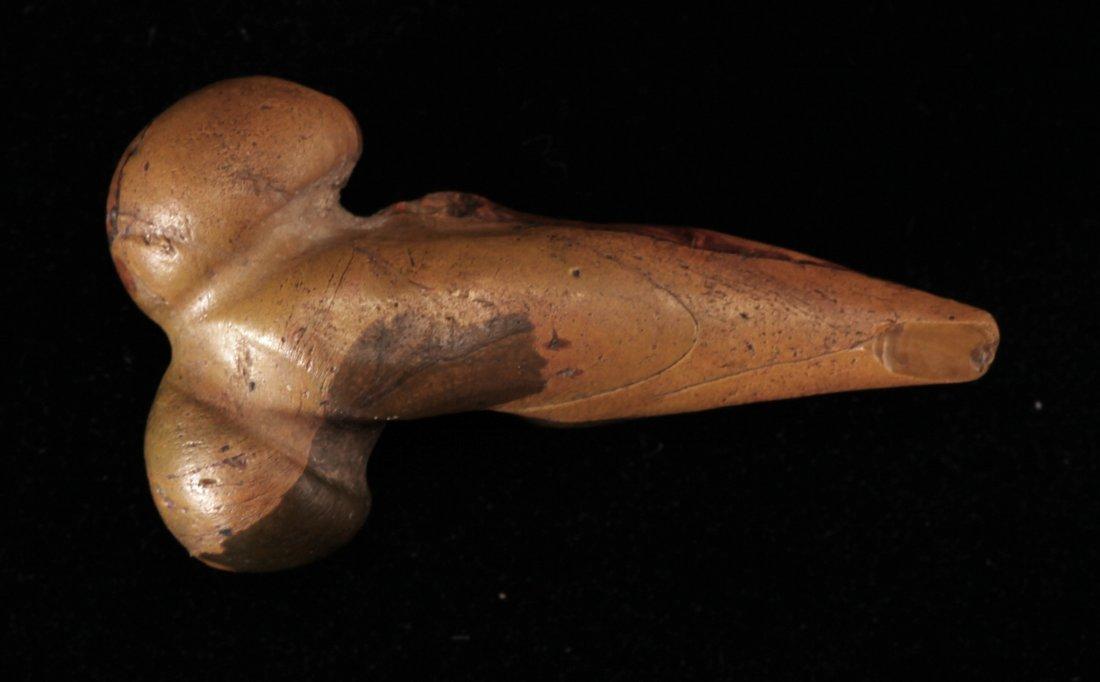 Large Egyptian Glass Phallic Amulet - 2
