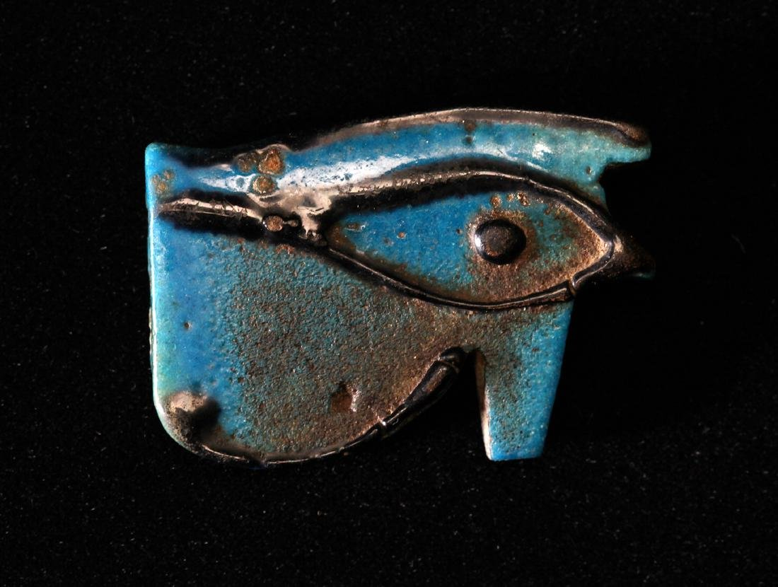A Large Egyptian Eye of Horus