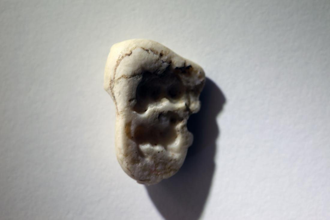 A Fine Stone Amulet of a Bull - 2