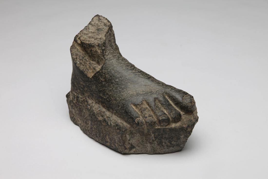 An Ancient Egyptian Stone Foot
