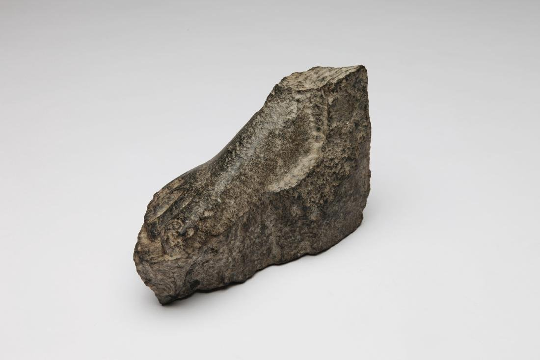 An Ancient Egyptian Stone Foot - 2