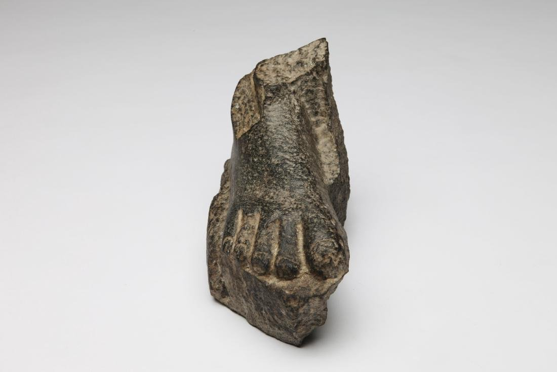 An Ancient Egyptian Stone Foot - 3