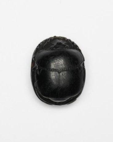 A Very Fine Egyptian Obsidian Scarab