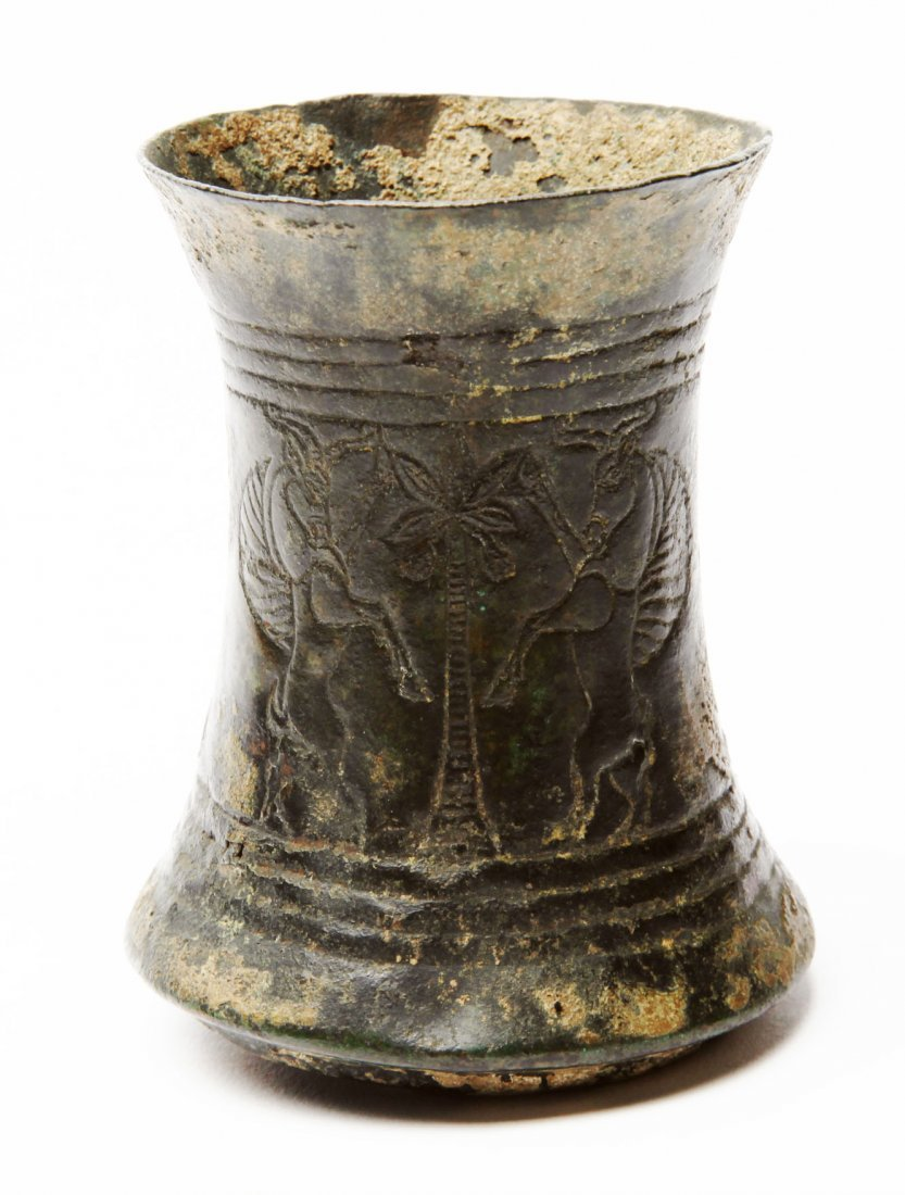 A Luristan Bronze Beaker