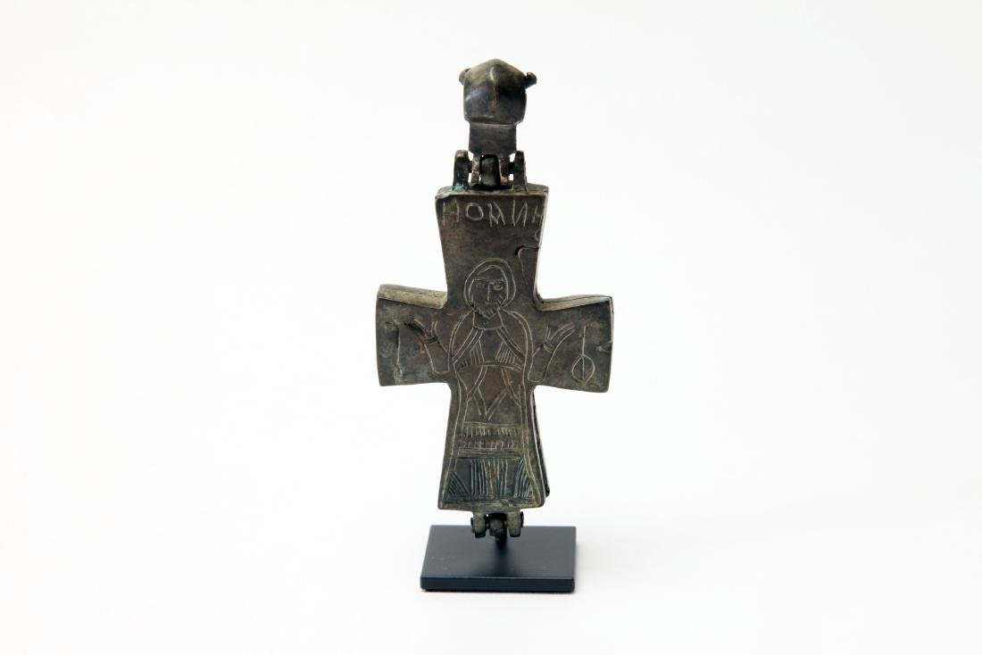 A Byzantine Bronze Cross