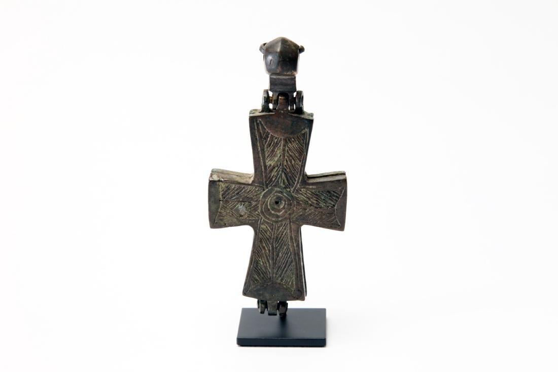 A Byzantine Bronze Cross - 2