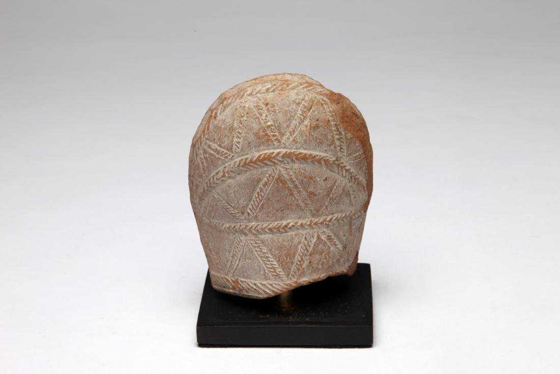 A Hellenistic Terracotta Lantern Fragment - 2