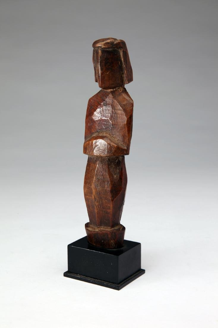 An Ancient Wood Standing Figure