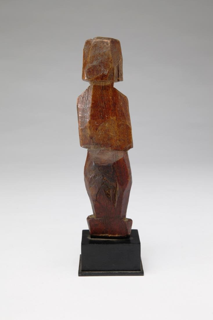 An Ancient Wood Standing Figure - 2