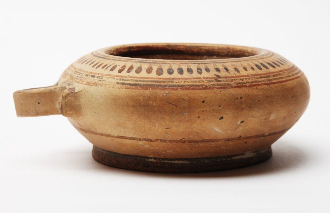 A Greek Pottery Vessel (Kothon) - 2