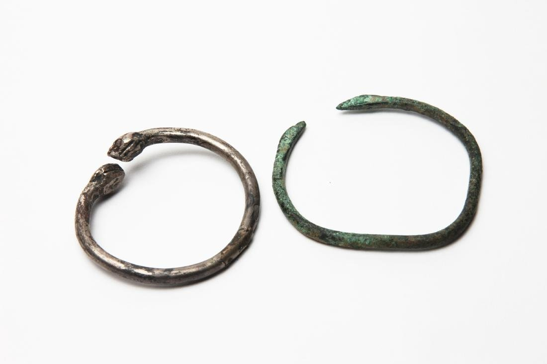A Group of 2 Ancient Bracelets.