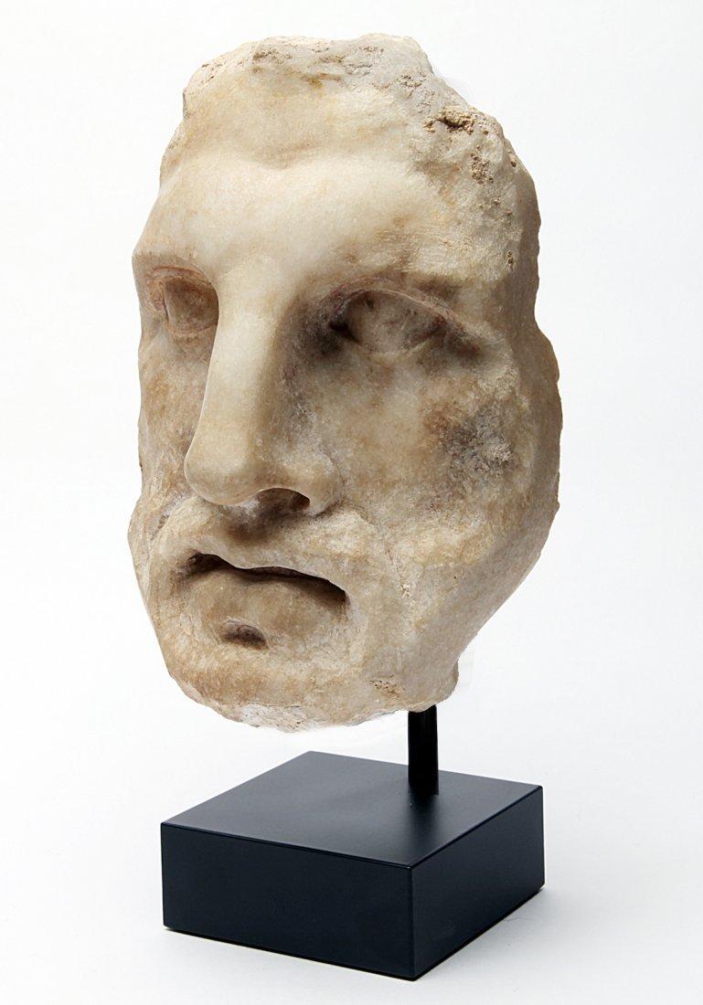 A Roman Marble Head - 2