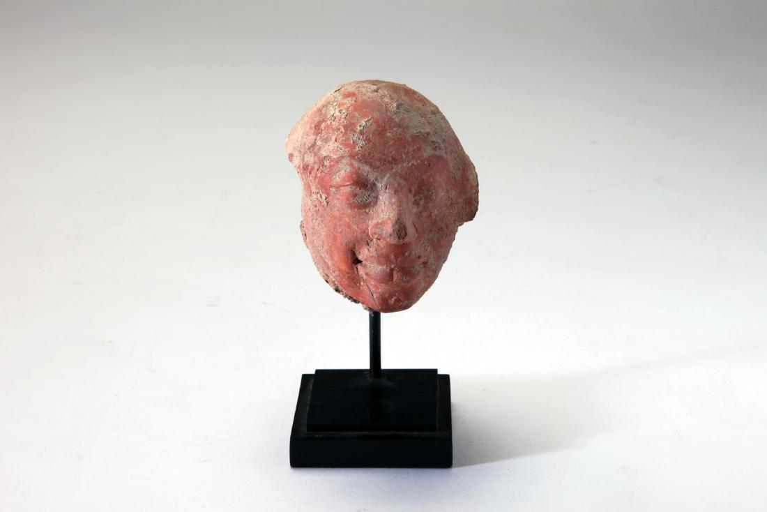 A Terracotta Head of a Male