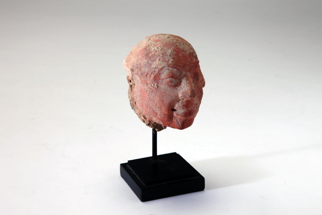 A Terracotta Head of a Male - 2