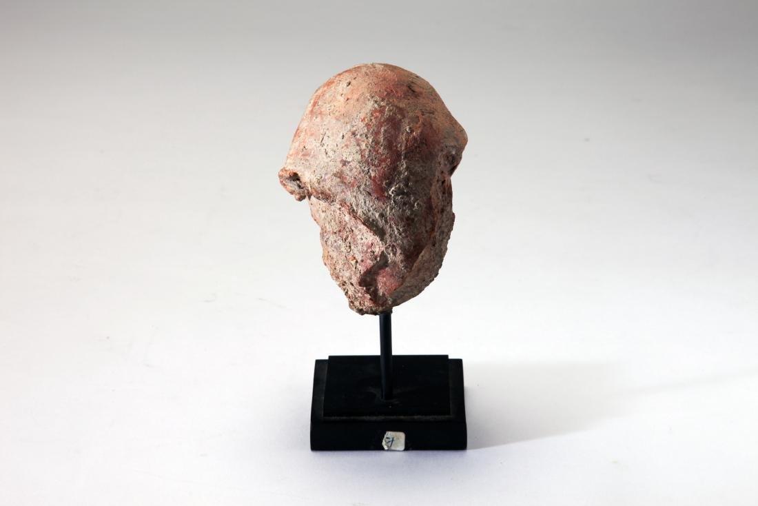 A Terracotta Head of a Male - 3