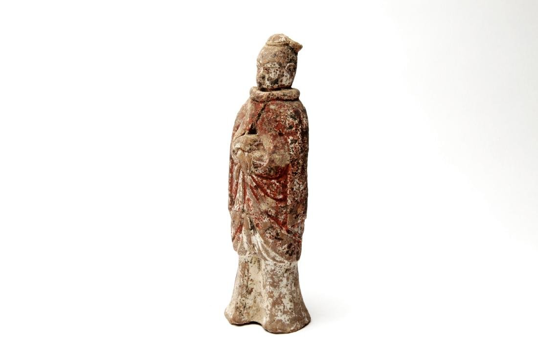 An Ancient Chinese Pottery Figure