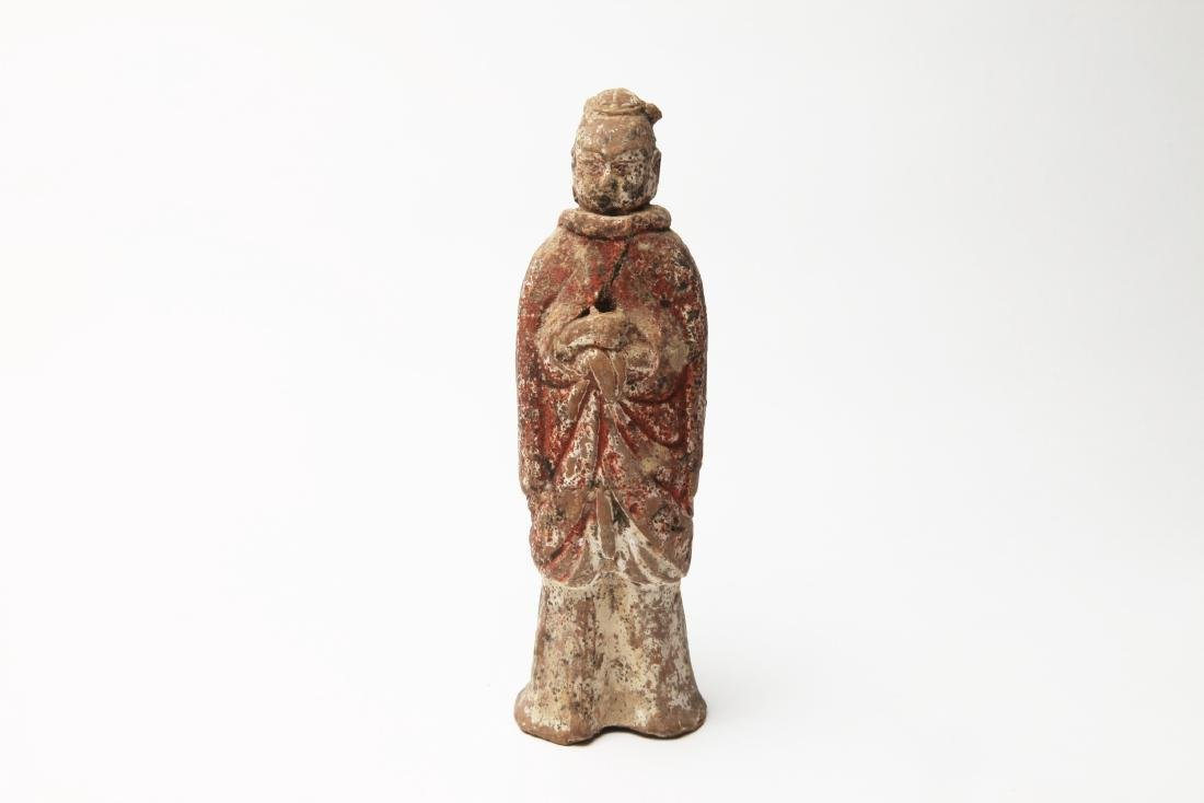 An Ancient Chinese Pottery Figure - 2