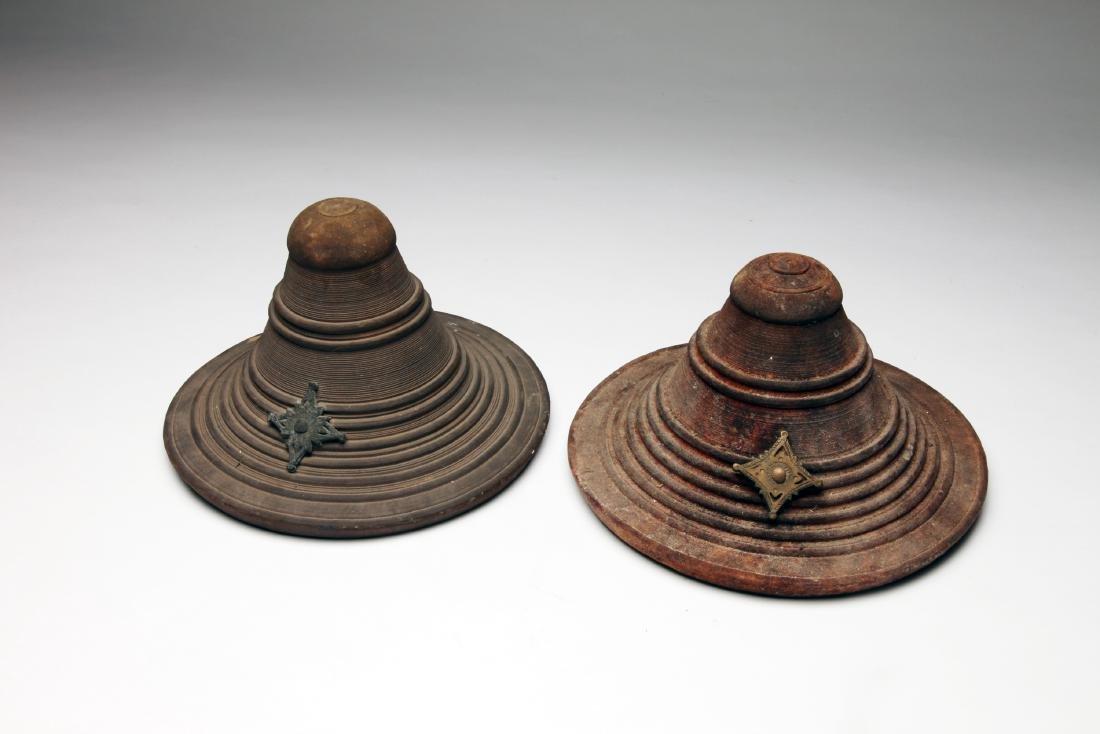 2 Ethiopian Hand Shields
