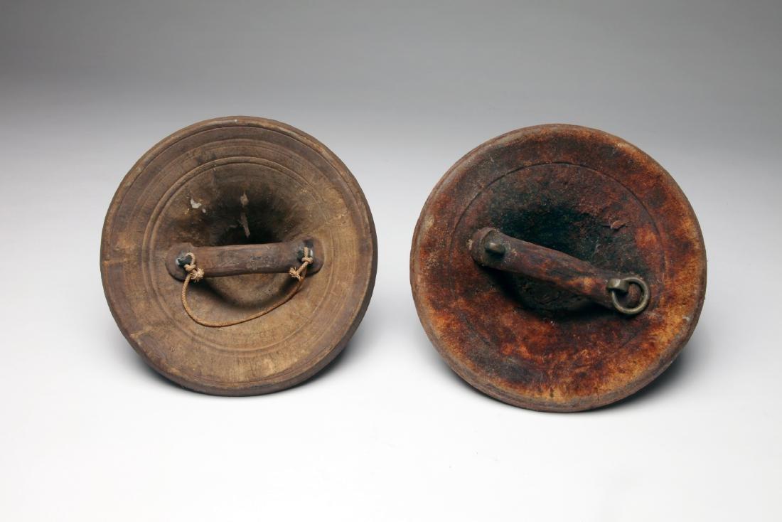 2 Ethiopian Hand Shields - 2