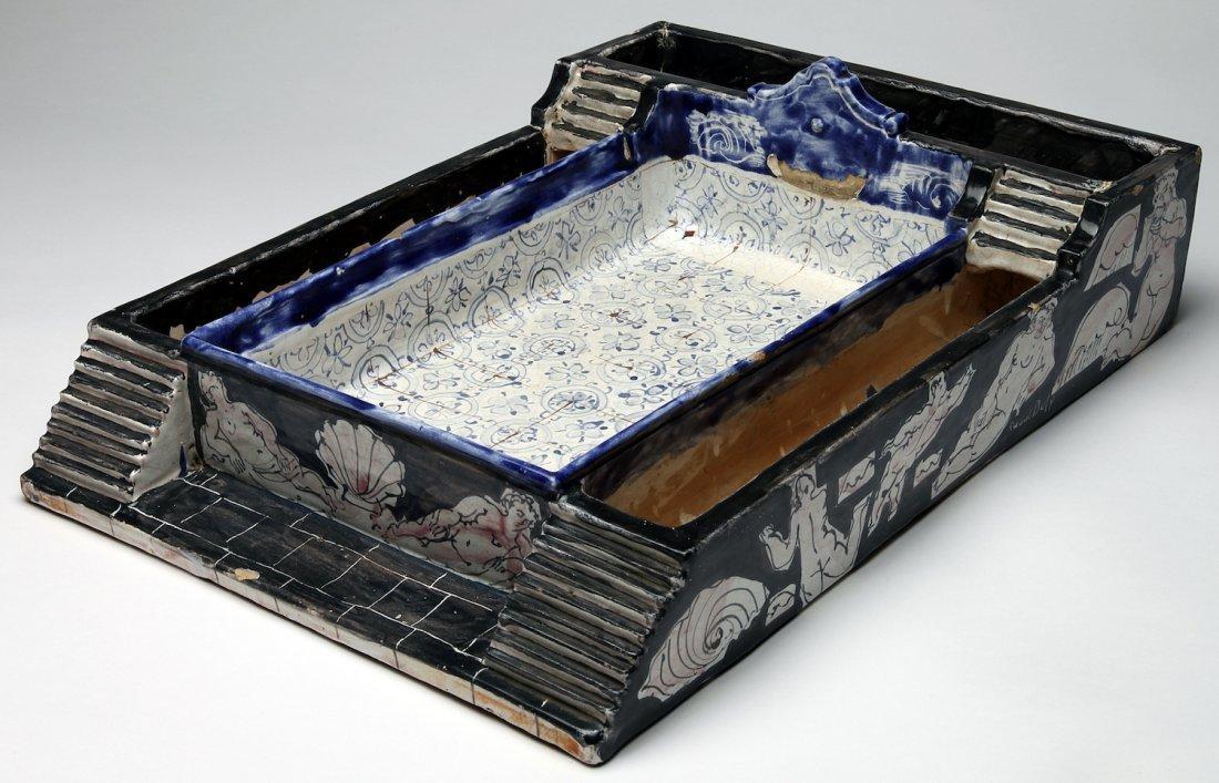 An Important Raoul Dufy Ceramic Jardin de salon