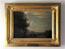 Jean-Baptiste-Camille Corot Landscape Oil Painting