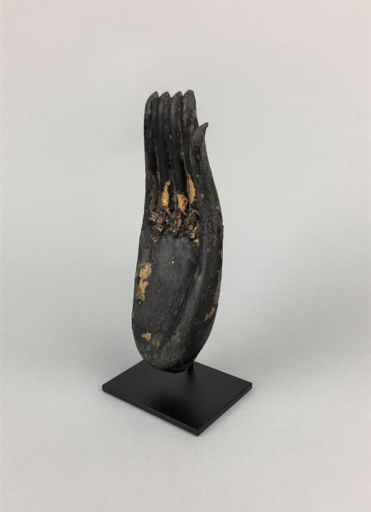 Large Thai Bronze Hand of Buddha