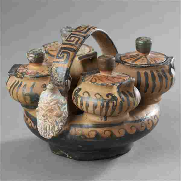 Rare Ancient Greek Kernos