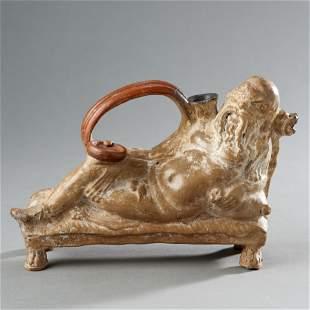 Ancient Greek Figural Askos