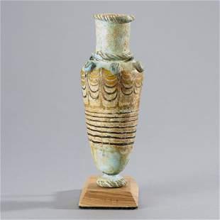 Ancient Core-Form Glass Vessel