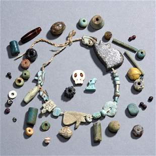 Collection of Ancient Beads and Amulets
