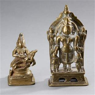Two Indian Bronze Figures