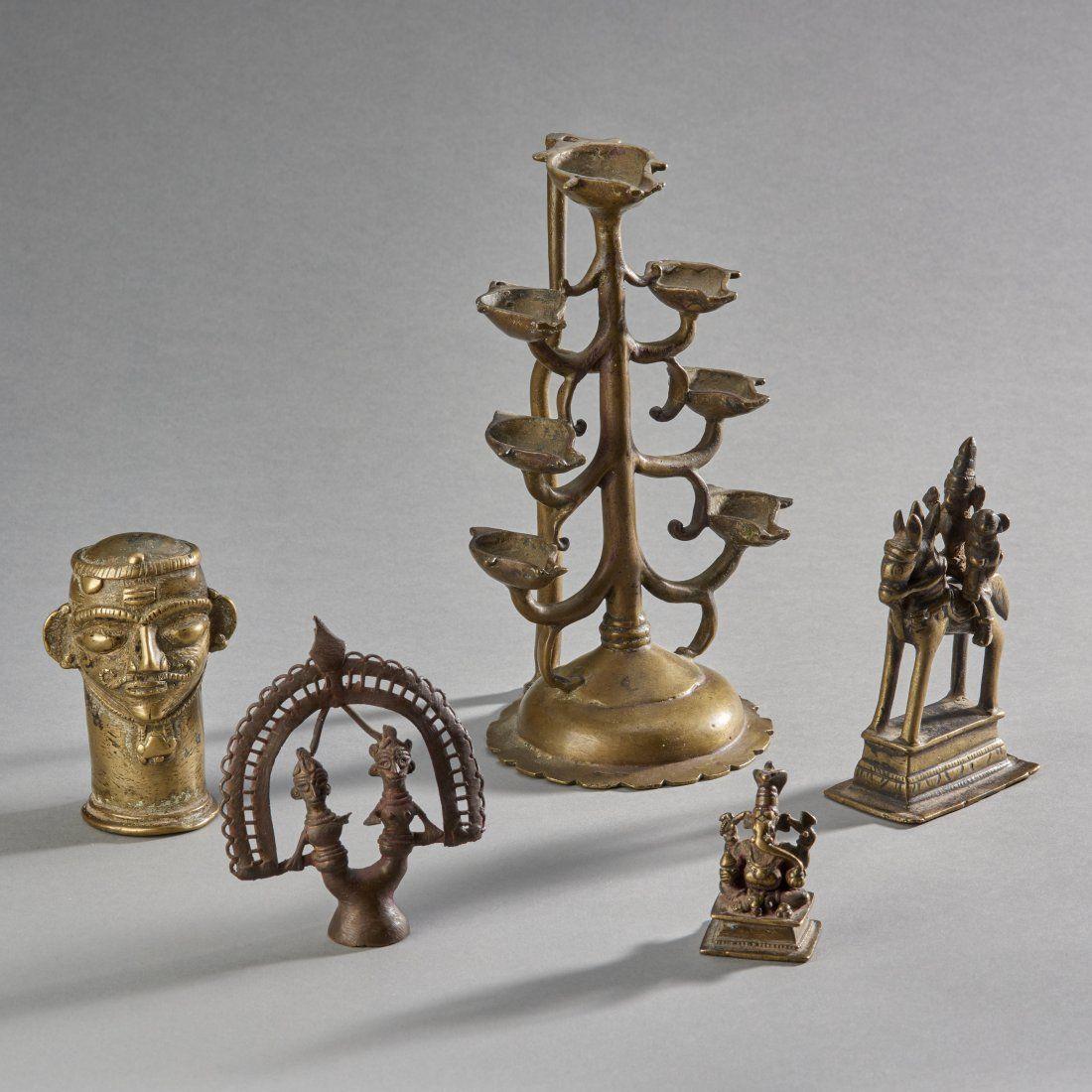 Five Indian Bronzes