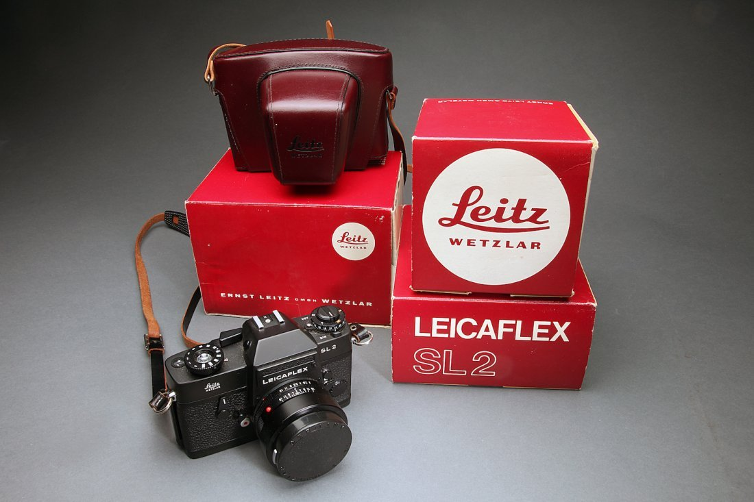 Leica SL2 Camera W/ Lens, Carrying Case, & Boxes