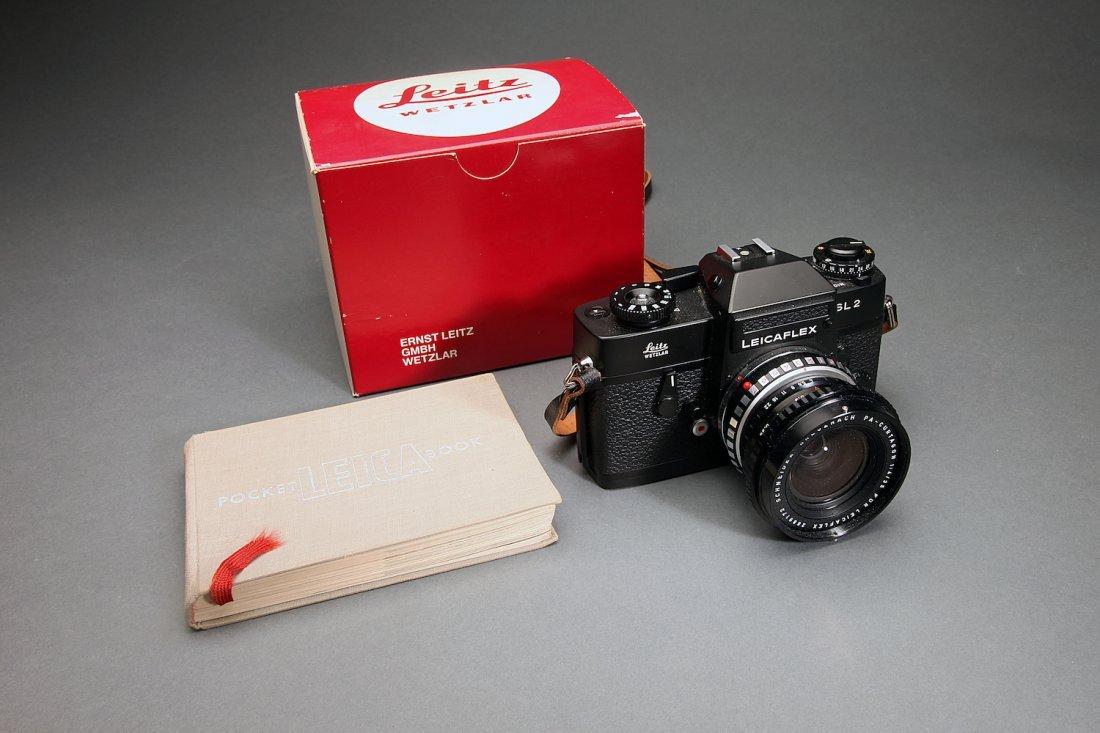 Leica SL2 Camera W/ Lens, Book, & Box